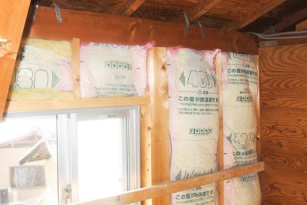 冷暖房効率アップ、結露防止